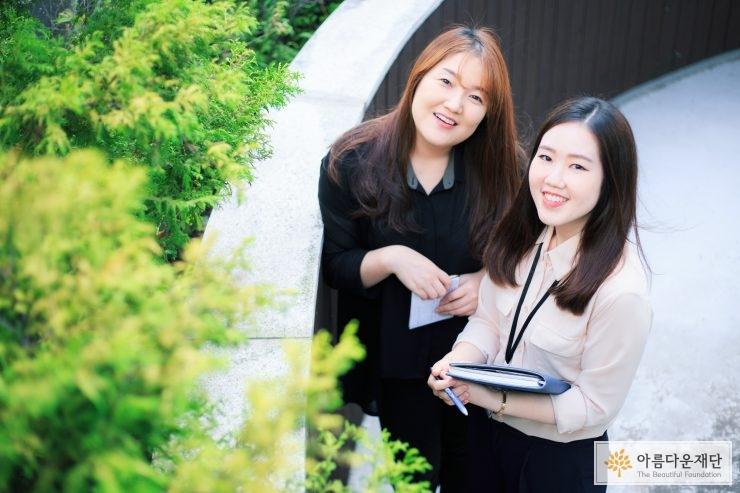 마포어르신돌봄통합센터 김은영 팀장, 황인경 사회복지사