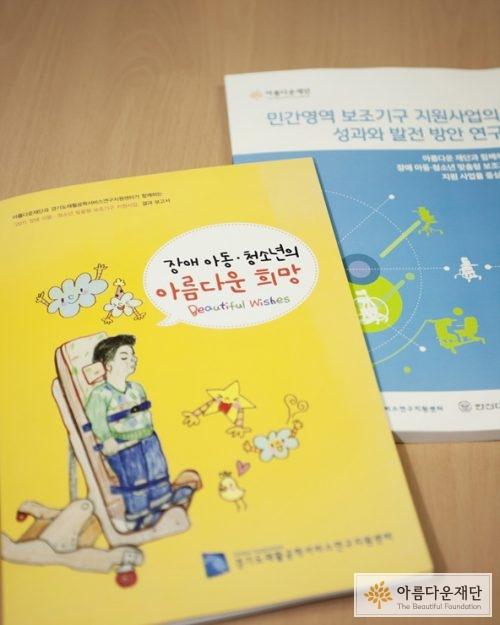 2017 장애아동청소년 맞춤형 보조기구 지원사업