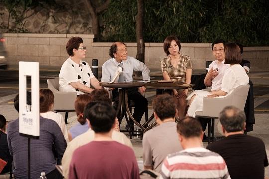 8월 23일 KBS거리의만찬 방송 화면 갈무리