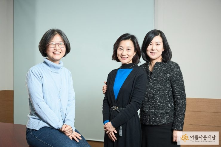 정선욱, 김선숙, 안재진 연구원