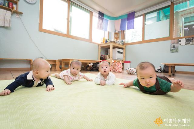 따뜻한 나눔의 힘으로 성장해나갈 아기들, 건강하게 자라렴 :)